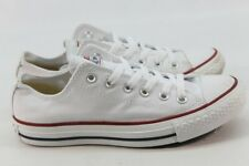 Converse Chuck Taylor All Star Low Top White Sneakers 5Men's/7Women's (146)