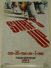 SURFS UP 27X40 DS MOVIE POSTER ONE SHEET NEW AUTHENTIC