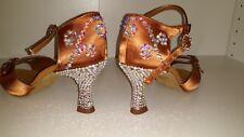 Latin Ballroom Dansport Women Shoes Stoned size UK4/US6/6 1/2