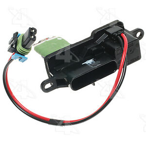 HVAC Blower Motor Resistor-Resistor Block Front 4 Seasons 20070