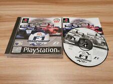 F1 campeonato temporada 2000 Para Sony PlayStation PS1 Completa