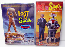 2 Polar Lights Lost In Space Models Robot B-9 Dr Smith Robinsons Monster Sealed
