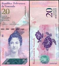 VENEZUELA 20 BOLIVARES 2011 P 91 UNC