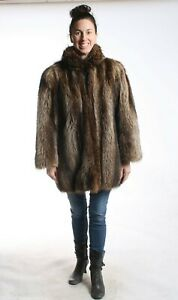 Size 2XL Great Raccoon Fur Women Coat [81]