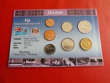 * Fiji KMS blister/* 1 cent - 1 dollari * 7 monete (alb 8)