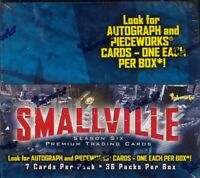 Smallville Season 6 Trading Card Box MINT Inkworks