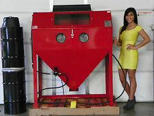 Professional Large SandBlast Cabinet Sand blast Blaster  48 x 24 new USA made