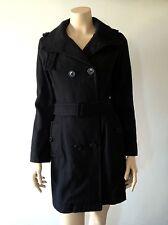 PEPE JEANS Mod. GLADDY Manteau noir TS 36 Val 240€ Duffle coat