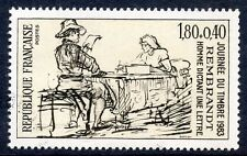 STAMP / TIMBRE FRANCE NEUF N° 2258 ** OEUVRE DE REMBRANDT