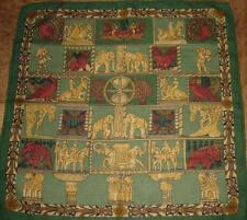 HERMES «TORANA» Cashmere Pocket Square, Hermes