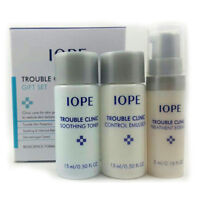 [IOPE] Trouble Clinic Gift Set (3 Items) Acne Skin Care Samples Size NEW