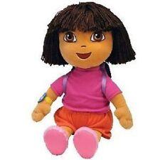 "TY Beanie Buddy Dora the Explorer 16"" Plush, NEW"