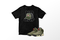 No CAP! Graphic T-Shirt to Match Air Jordan 6 Retro Travis Scott All Sizes