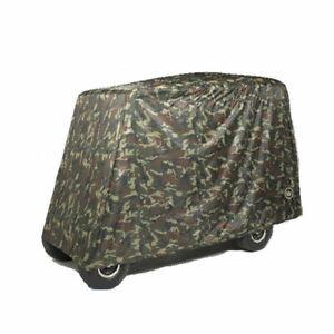 Greenline 4 Passenger Universal Slip-on Golf Cart Storage Covers - Camo