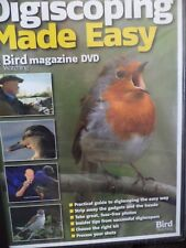 DIGISCOPING MADE EASY-A BIRD WATCHING MAGAZINE DVD NEW SEALED.