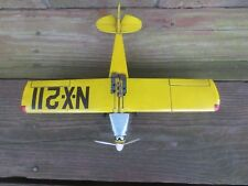 Vintage Tin Friction HTC Spirit of St. Louis Toy Airplane Made in Japan NX-211