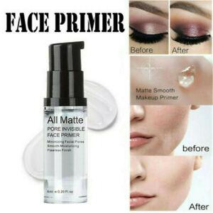 Matte Face Primer Base Liquid Natural Foundation Pores Invisible Oil-control ~