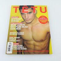 TETU Magazine #112 French Language Gay Men S&M Tamara De Lempicka 2006