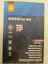 1/32 Mirage M5/M50/Nesher by Antarki - 13 Versions for Different Air Forces
