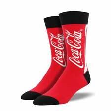 Socksmith Men's Red Classic Coca-Cola Socks