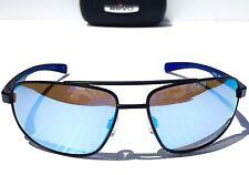 NEW* REVO WRAITH AVIATOR BLACK w Blue POLARIZED Lens Sunglass 1018 01 BL