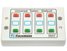 Viessmann 5547 - Tasten-Stellpult 2-begriffig - Spur N - NEU