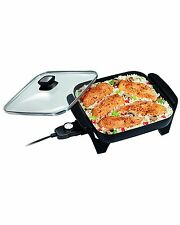 Electric Skillet Non-Stick Frypan Fry Frying Pan Large Skillets Kitchen Tools