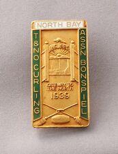 Rare Temiskaming & Northern Ontario Railway Curling Club Bonspiel  Canada