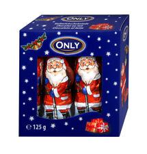 Only kleine Weihnachtsmänner aus Schokolade 10x12,5g Weihnachten Weihnachtsmann