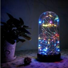 "30L Mini LED Multi Color String Light in Dome 9"" High Battery Powered/ Christmas"