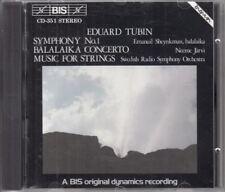 Tubin: Symphony No.1  etc: Emanuil Sheynkman