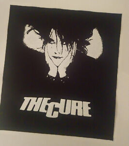 The Cure Robert Smith british artrock gothicpunk WGT punkl rock BACK PATCH
