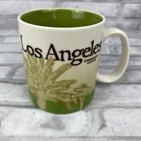 2012 Starbucks Los Angeles Collector Series 16 oz Ceramic Global Icon Coffee Mug