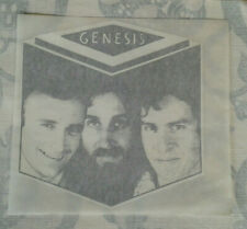GENESIS vintage iron on transfer x10 #726 Phil Collins