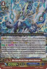 1x Cardfight!! Vanguard Blue Storm Marshal Dragon, Admiral Maelstrom - G-FC01/00