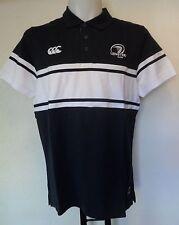 Leinster Rugby Stripe Jersey Polo Shirt Da Canterbury Adulti Taglia Small