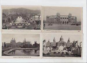 BARCELONA EXPO 1929 SPAIN 18 Vintage Postcards