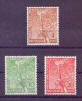Berlin 1952 - Vor-Olympiade - MiNr. 88/90 postfrisch** - Michel 30,00 € (963)