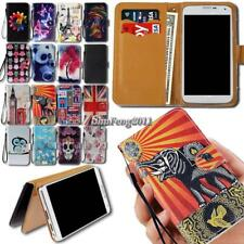 New Leather Wallet Card Stand Magnetic Flip Case Cover For Various Mobile Phones