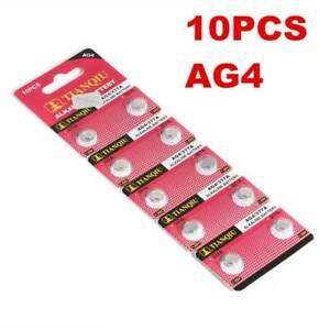 10 Pcs/pack AG4 377A 377 LR626 LR66 Watch Coin Battery for Watch Lighter Clocks