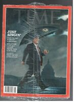 New Sealed TIME Magazine april 8, 2019 Donald Trump singing in the rain