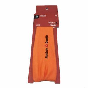 Reebok Crossfit Women's Orange Bandana Headband (AJ6324) One Size B45
