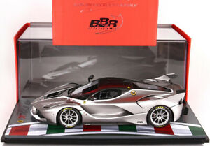 BBR 1/18 Ferrari FXX-K Test Fiorano Matt Silver P18119TEST