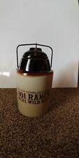 pint stone fruit jar, 101 Ranch art addition,