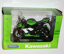 Welly - '09 KAWASAKI NINJA ZX-10R Motorbike Model Scale 1:18