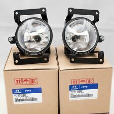 Genuine Fog Lamp Assy Pair with Connector For Hyundai Tucson 2005-2009