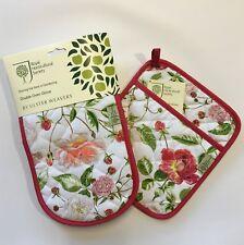 Royal Horticulture Société gant cuisine double & POT moufle Set rose