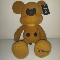 Disney Mickey Mouse X AE American Eagle Special Edition Plush Doll Brown w/ Tag