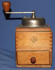 Vintage German Kungenthal wooden coffee grinder mill