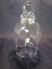 Reikes Crisa Hand Crafted Made in Italy 24% Lead Crystal Bell